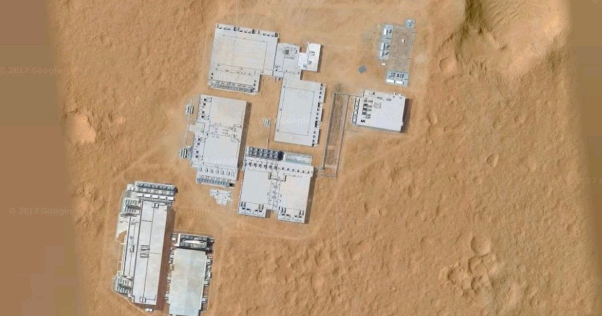 Is Manmade Facility Pictured On Mars Evidence Of Life