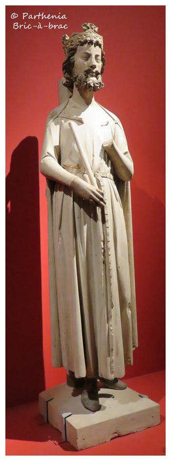 statue du roi Childebert