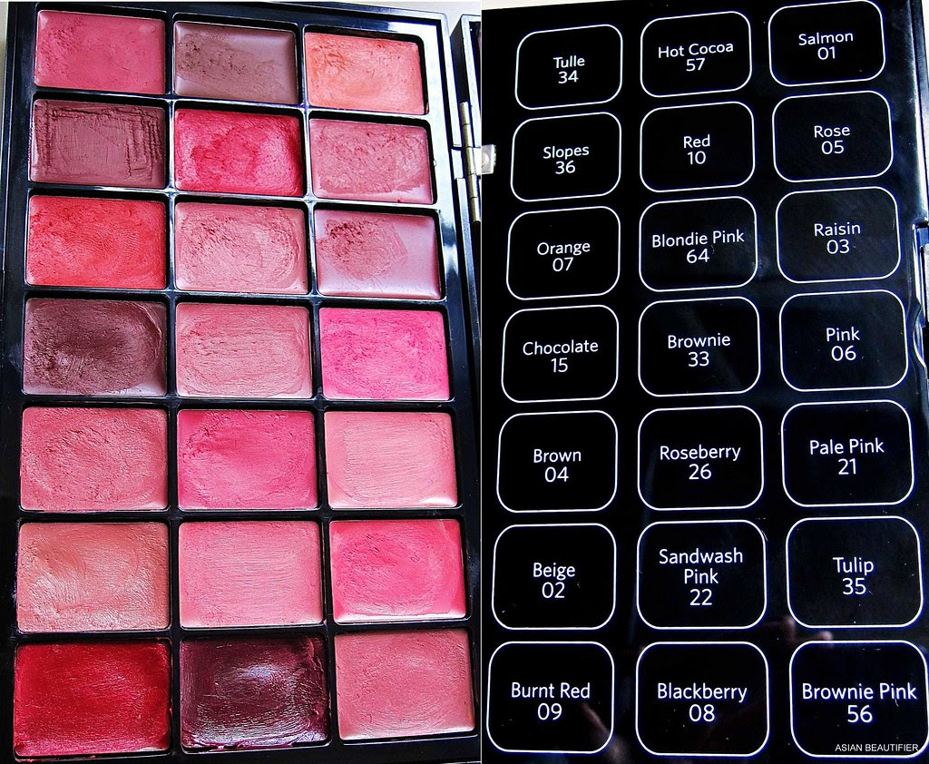 Bobbi Brown Artist Palette For Lips height=