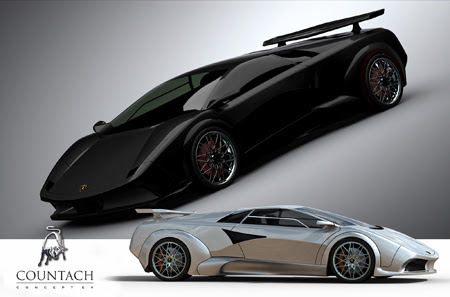 tribute countach6 Super Cars of the Future: Inspiring Future thinking in Car Design