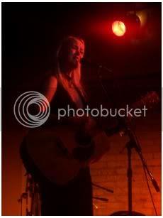 Tina Dico @ El Mocambo(Toronto, Ontario), June 15, 2004: photo by Mike Ligon
