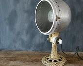 Antique Cast Iron Lamp