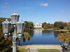 Cleveland Museum of Art across Wade Lagoon