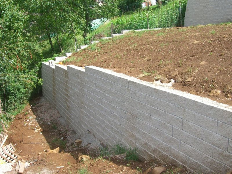 Blocchi Calcestruzzo Per Muri.Sistemi Di Isolamento Termico Muro In Blocchi Di Calcestruzzo