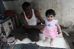 the cobbler and barefeet blogger of bandra - nerjis asif shakir 1 year old by firoze shakir photographerno1