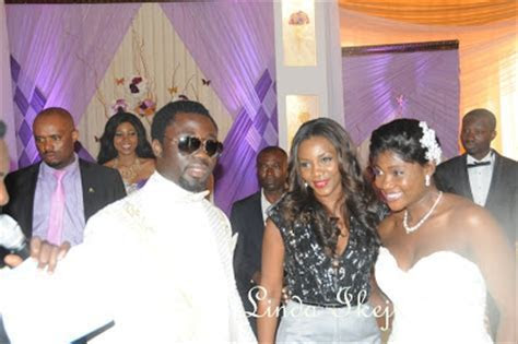 Photos From Mercy Johnson and Prince Odi's White wedding