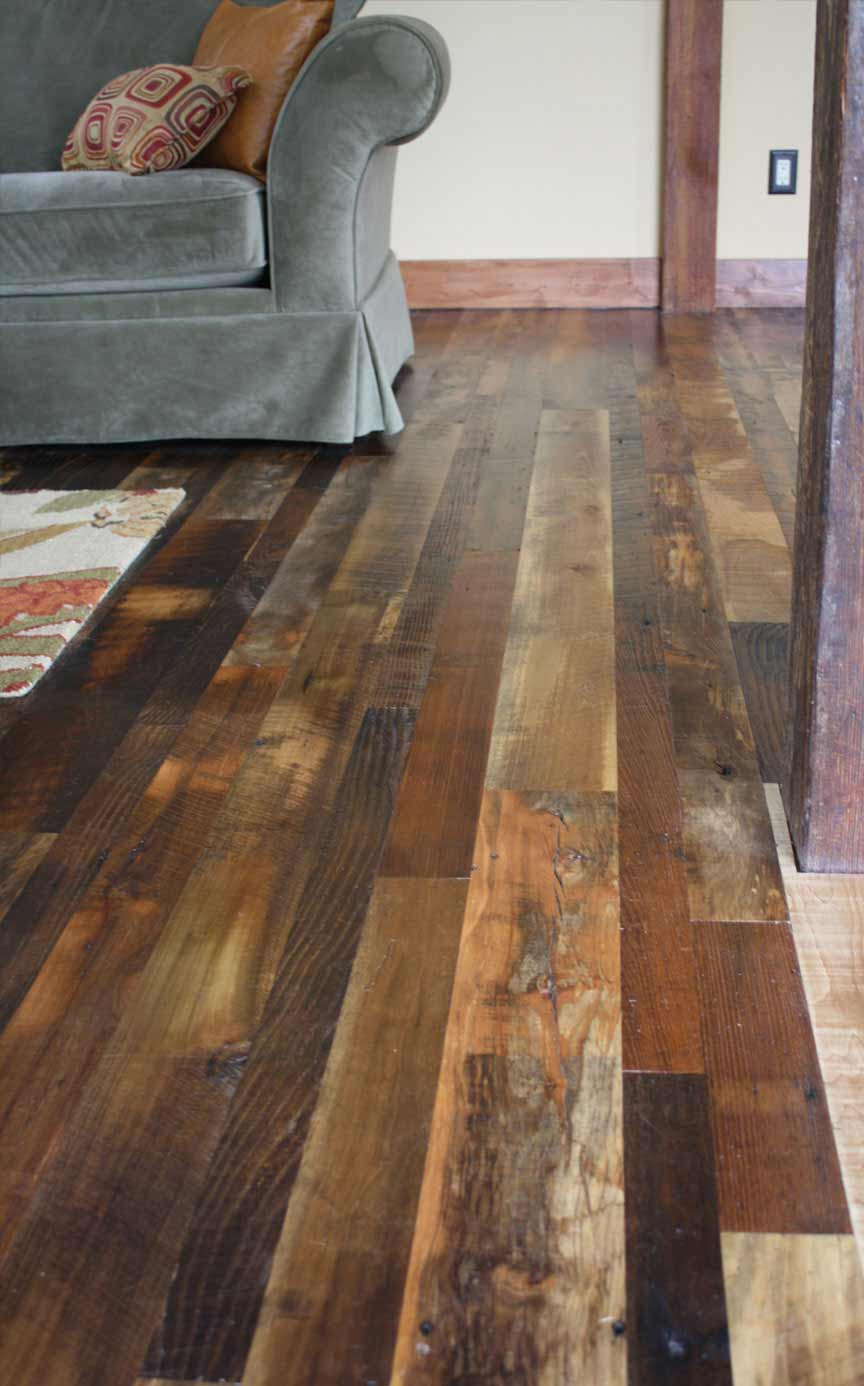 Antique Mixed Hardwoods Distressed – Mountain Lumber Company