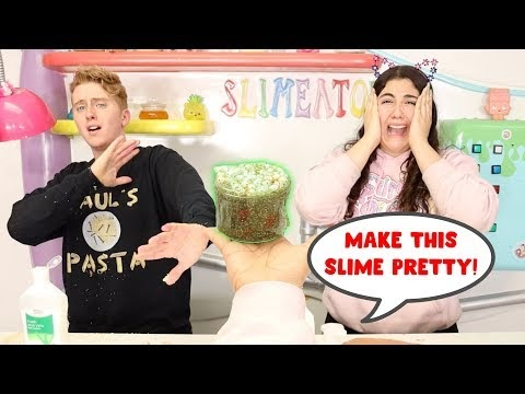 MAKE THIS SLIME PRETTY CHALLENGE! Slimeatory #574