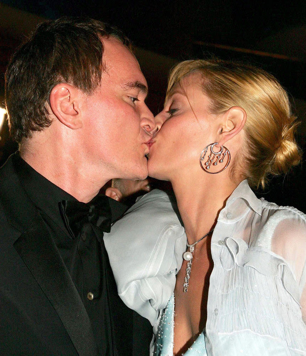 57TH CANNES FILM FESTIVAL PREMIERE OF ' KILL BILL VOL II' , CANNES, FRANCE - 16 MAY 2004 Quentin Tarantino and Uma Thurman 16 May 2004