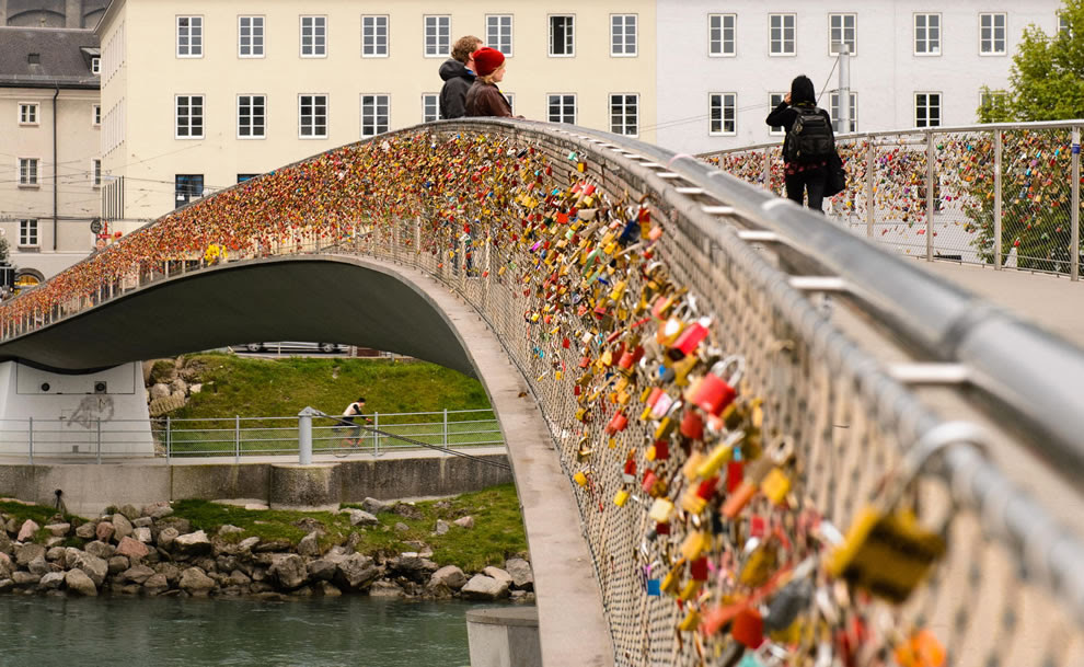Love Locks In Austria