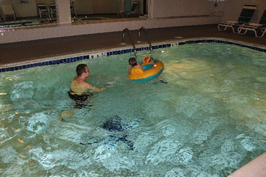 Huge inside pool - Picture of Montauk Manor, Montauk - TripAdvisor