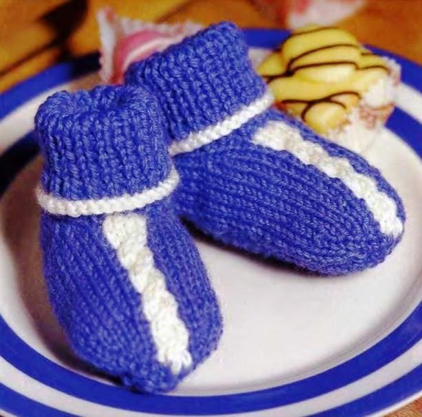Рукоделие: Схемы Вязания Пинеток Для Малышей