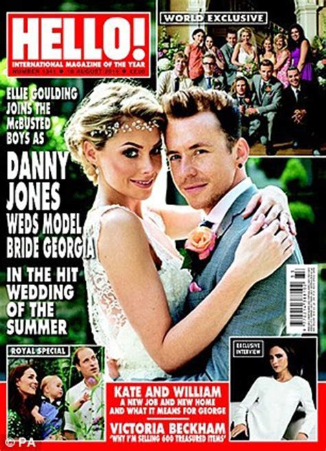 McBusted's Danny Jones talks about wedding to Georgia