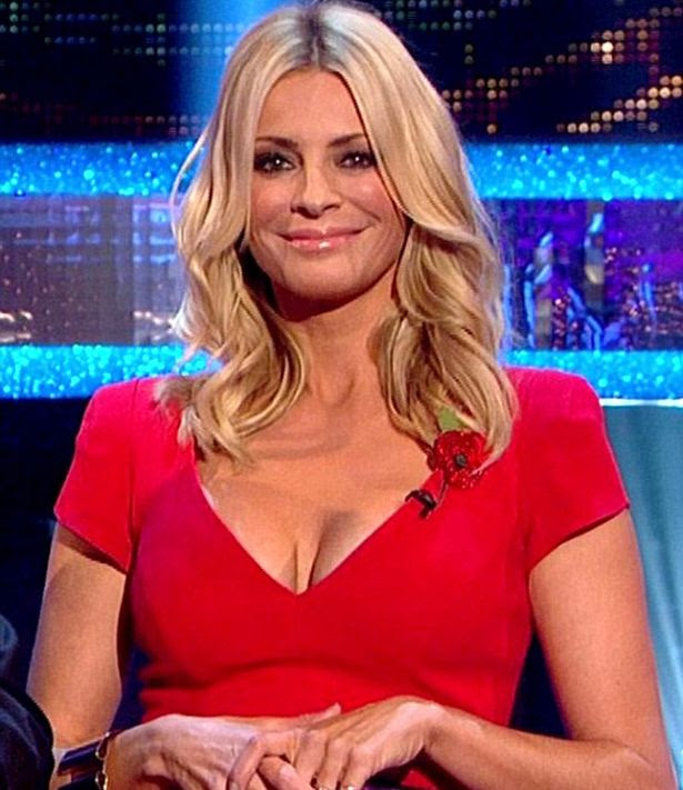 Tess Daly on Strictly Come Dancing