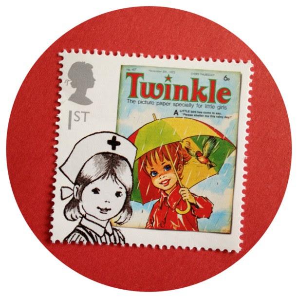 #uk #stamp #snailmail #comic #twinkle #girl #penpal #letter