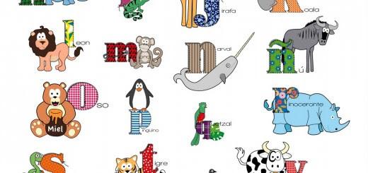 GEA EDUCADORES: Abecedario Niños y Animales. Fichas imprimibles