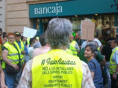 Ocupación en Barcelona.