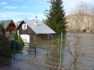 Flood in Znojmo (2006) 2