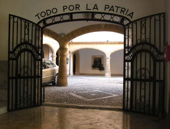 Régi laktanya a belvárosban, Palma de Mallorca, Spanyolország