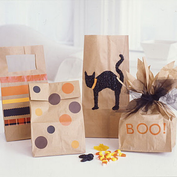 Quick And Simple Kids Halloween Bags Craft Family Holidaynet