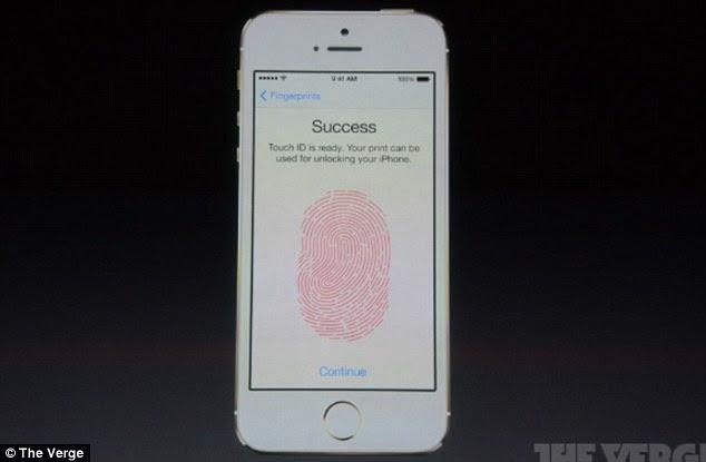 Apple's iPhone 5S has a fingerprint scanner built into the 'home' button capable of handling multiple fingerprints.