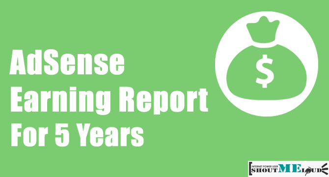 AdSense Earning Report