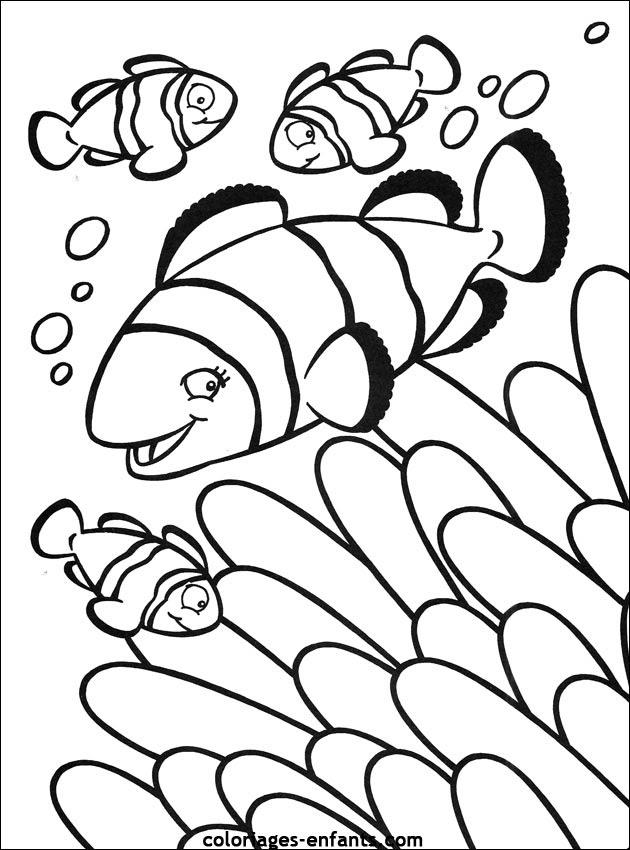 106 Dessins De Coloriage Poisson à Imprimer Sur Laguerchecom Page 1