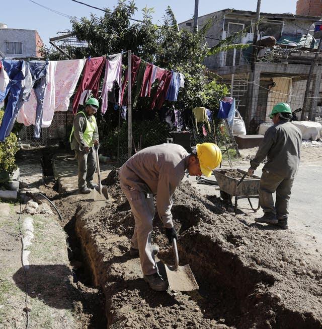 Empiezan las tareas de infraestructura en el barrio