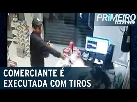Comerciante é executada com tiros na cabeça em Pernambuco; Vídeo