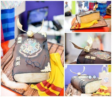 Harry Potter Birthday Cake   Zaniac   Miami Custom Cakes