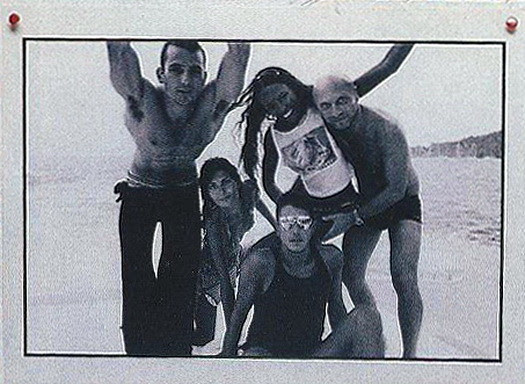 Enrique Pallacios, @Batgiovanna, Naomi, Domenico and @stefanogabbana - via VeljkoGavril
