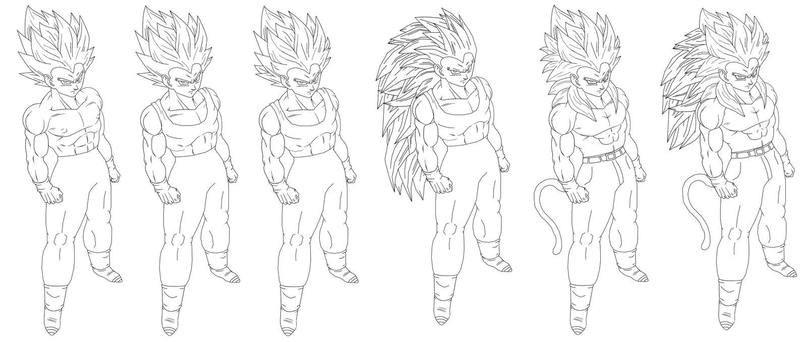 Full Dragon Ball Z Super Saiyan Coloring Pages Full Best Free
