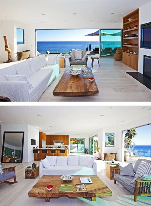 Luxury Beach House Design in Malibu-California | Interior Design