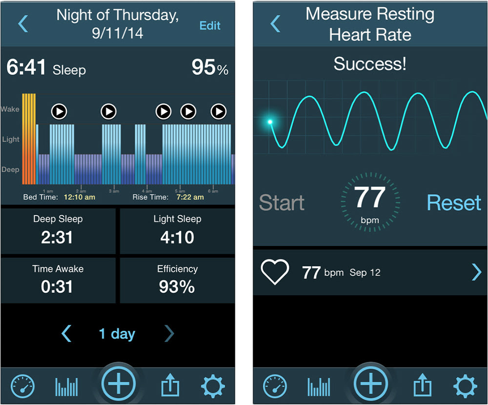 Use your iPhone to track sleep patterns with MotionX 24/7