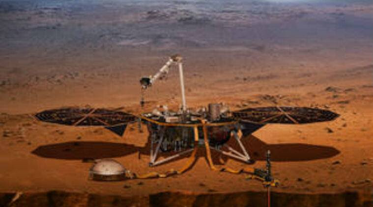NASA InSight mission, NASA 2018 launches, InSight launch date, NASA Mars probes, Marsquakes, InSight probe Mars, seismic activity, rocky planets
