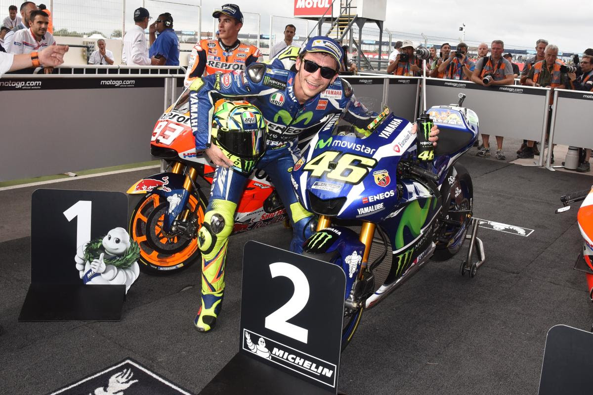 Rossi I Had Big Problems With The Rear Tyre