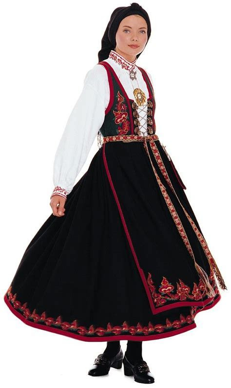 The traditional costume of Norway is called ?bunad.? There