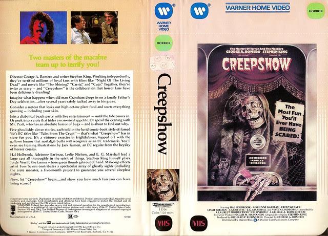 Creepshow (VHS Box Art)