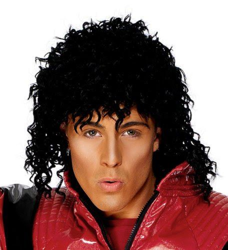 Michael Jackson Thriller Wig.