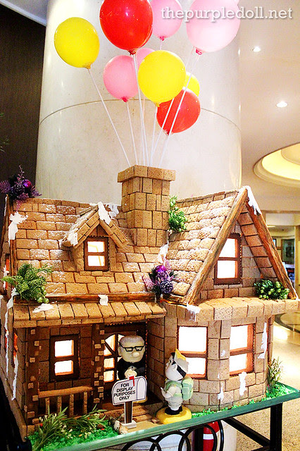 Up! Gingerbread House at Bellevue Manila