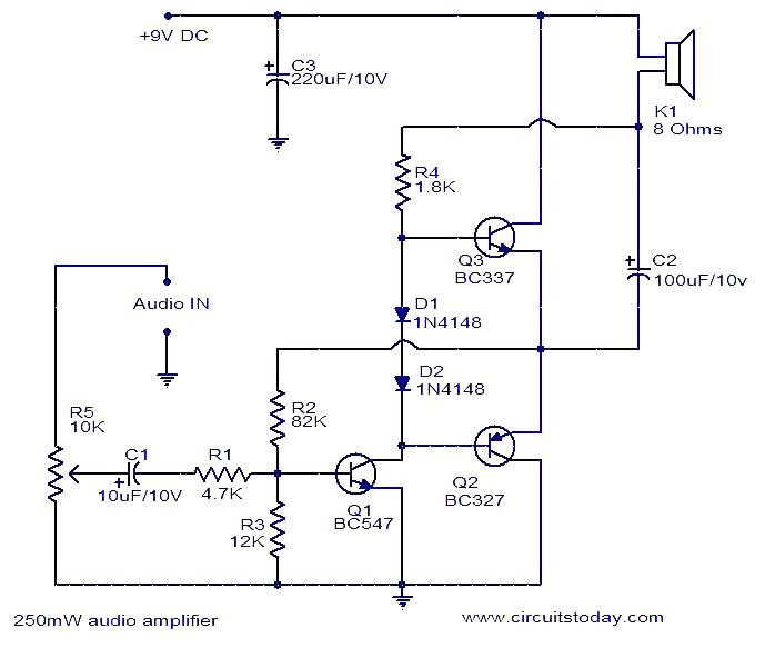 all audio amplifier circuit pdf