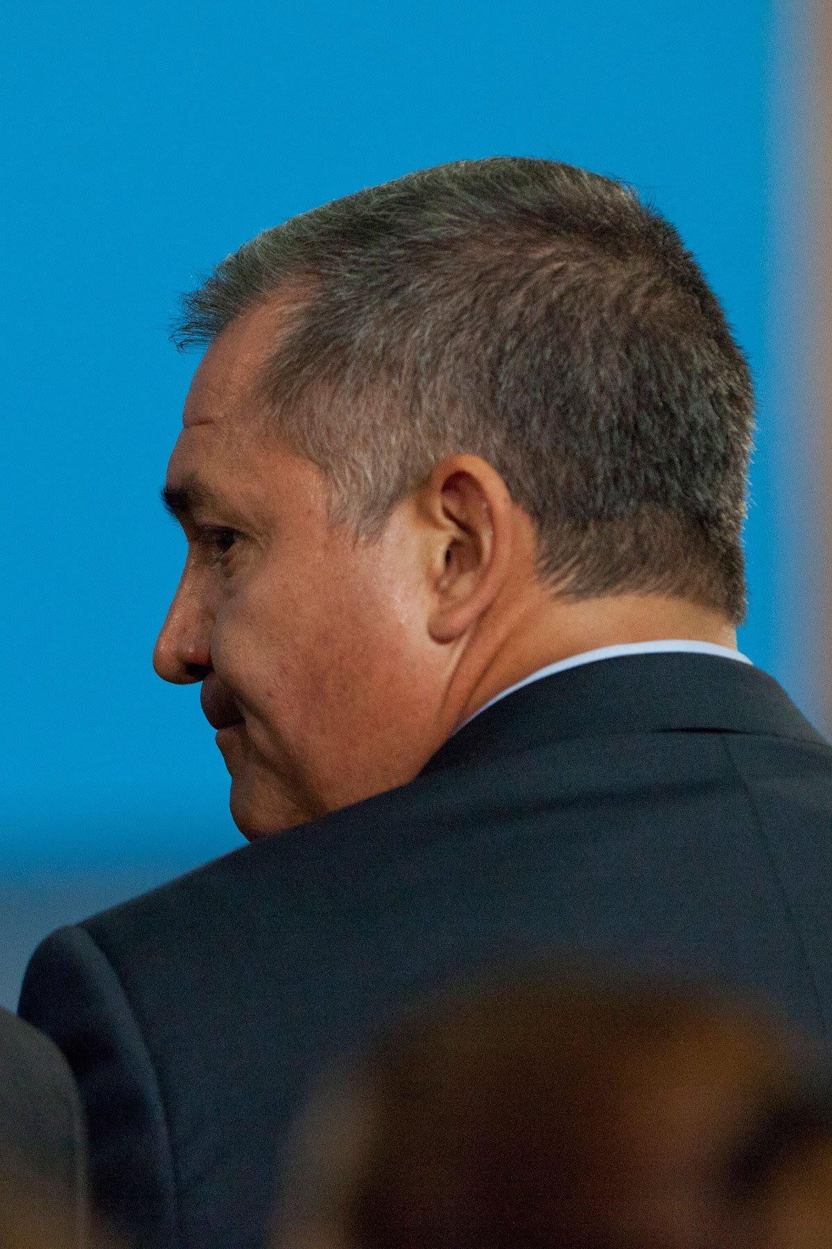El titular de la SSP, Genaro García Luna. Foto: Eduardo Miranda