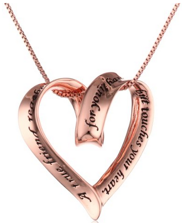Sterling Silver Necklaces For Your Best Friend Perfect Gift For