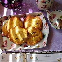 Ulubione ciasteczka Taty czyli Coconut & cranberry cookies