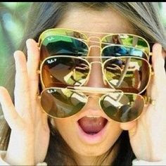 Ray-Ban Sunglasses!!! Summer good choose!