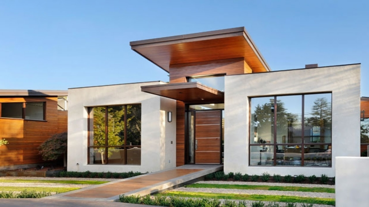 Small Modern House Exterior Design UltraModern Small House Plans, simple home designs