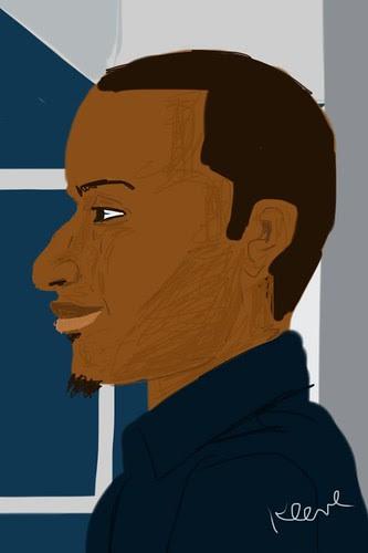 iPhone drawing, Light Rail