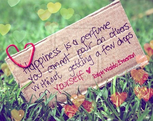 Happiness is a perfume…