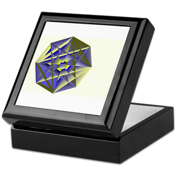 Crystal Key Keepsake Box