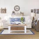 Fresh coastal living room | Coastal living room ideas | housetohome.
